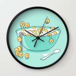 Early Morning Party Wall Clock