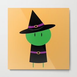 My Little Witch Metal Print