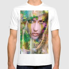 The favorite of the Caliph White Mens Fitted Tee MEDIUM