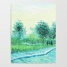 Van Gogh : Park in Asnieres Poster