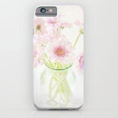 Pink Gerberas In A Vase {Light Textured Version} iPhone 6s Slim Case