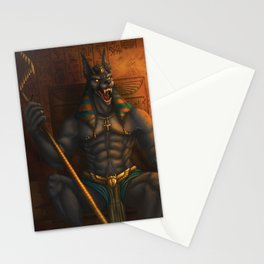 Anubis: Lord of the Dead Stationery Cards