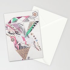 Leopard Diamond Paranoia Stationery Cards