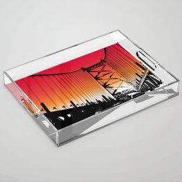 Philadelphia Acrylic Tray