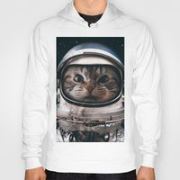 Hoodies featuring Space catet by Seamless