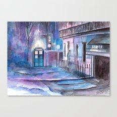 WhoLock  Canvas Print