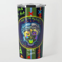 Hooked on Art Travel Mug