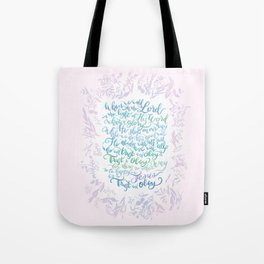 Trust and Obey - Hymn Tote Bag