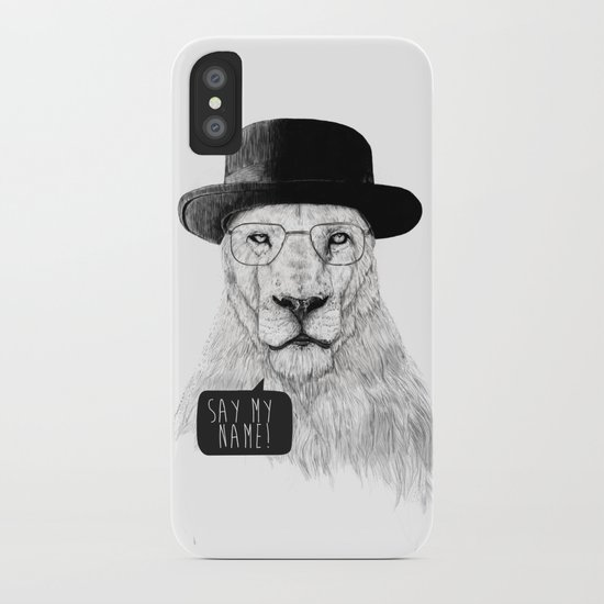 Say my name iPhone Case