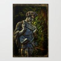 pagan Canvas Prints featuring Pagan Pan by Chris Lord