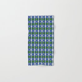 Links of Blue and Green Hand & Bath Towel