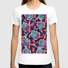 Abstract floral background 999 T-shirt