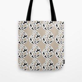 MAD HUE AOTEAROA Tan Tote Bag