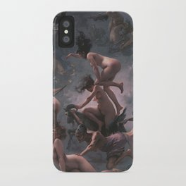 WITCHES GOING TO THEIR SABBATH / THE DEPARTURE OF THE WITCHES - LUIS RICARDO FALERO iPhone Case