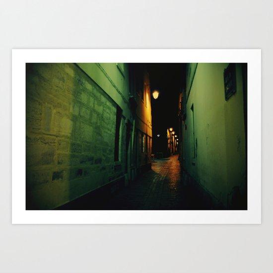 Darkway Art Print