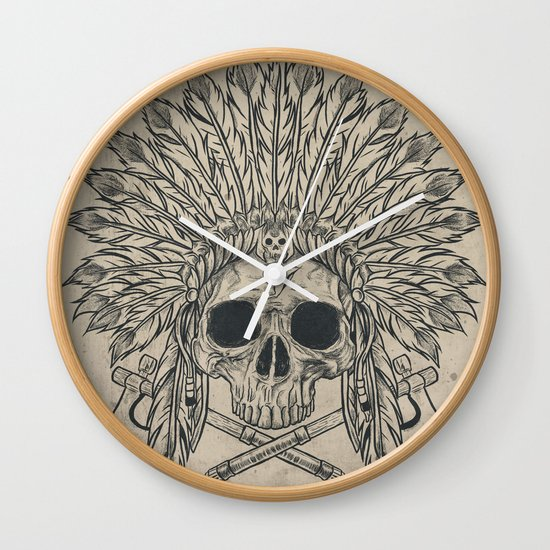 The Dead Chief Wall Clock