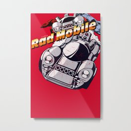 Rad Mobile Metal Print