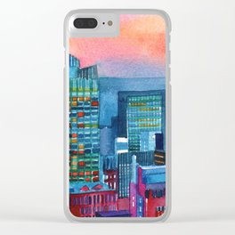 New York buildings vol2 Clear iPhone Case