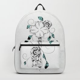 Poetic Key of Luck Backpack