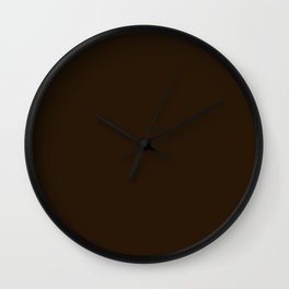 Elastic Waves ~ Bronze Wall Clock