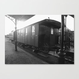 Old train wagon Canvas Print