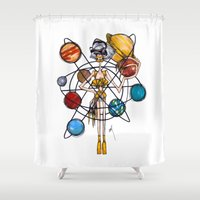 venus Shower Curtains featuring Venus by Natalie Easton