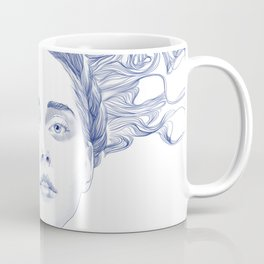 Blue Summer Coffee Mug
