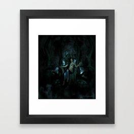 Goddess Lilith Framed Art Print