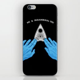 Me & Paranormal You - James Roper Design - Ouija (white lettering) iPhone Skin
