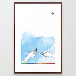 you're COLOR - Page 1 Framed Art Print
