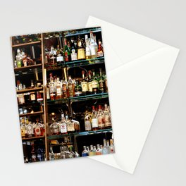 BOTTLES ALL IN A ROW Stationery Cards