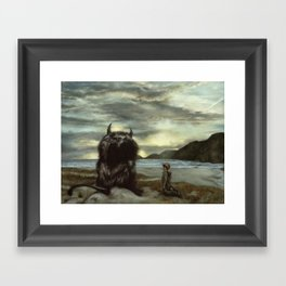 They'll Seat Us in the Sun Framed Art Print