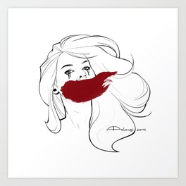 Invisible Monsters Art Print