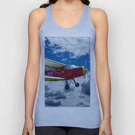 Single Propeller Plane Unisex Tank Top