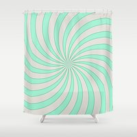 circus Shower Curtains featuring Circus by 83 Oranges™
