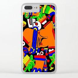 Twisted Maya Clear iPhone Case
