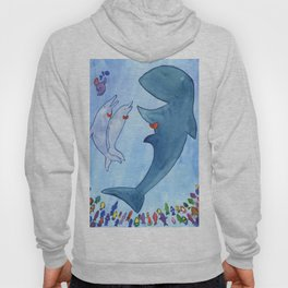 Whale Concert Hoody