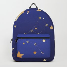 Galaxy of Stars Blue Backpack