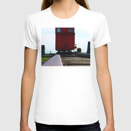 The track and the Train T-shirt