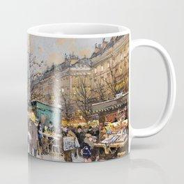Paris Porte Saint-Denis, Paris, France by Eugene Lalien Laloue Coffee Mug