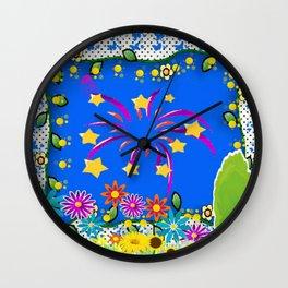 FRAMED FANCY Wall Clock