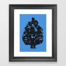 Adventures in Cryptozoology Framed Art Print