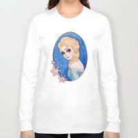 frozen elsa Long Sleeve T-shirts featuring Elsa - Frozen by Naineuh