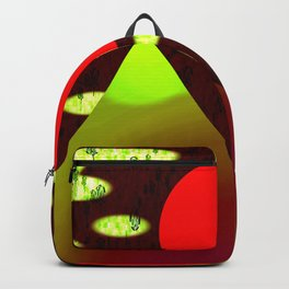 Mountains and Sunset 1a - by Matilda Lorentsson Backpack