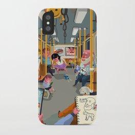 Budapest underground iPhone Case