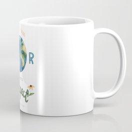 Respect Earth Art Coffee Mug