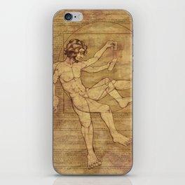 Vitruvian Man 2.0 iPhone Skin