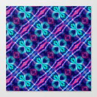 neon Canvas Prints featuring Neon by GypsYonic