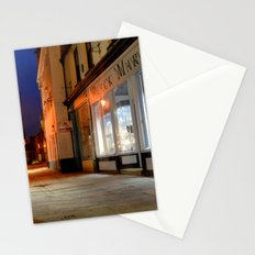 Sandgate, Whitby at Night Stationery Cards