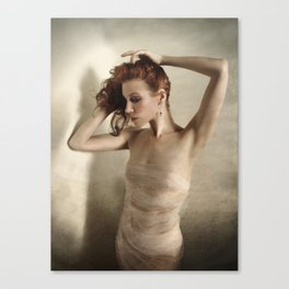 Wreathed in Shadow Canvas Print